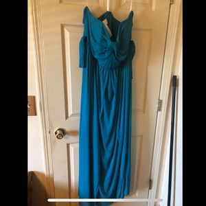 Floor length formal dress